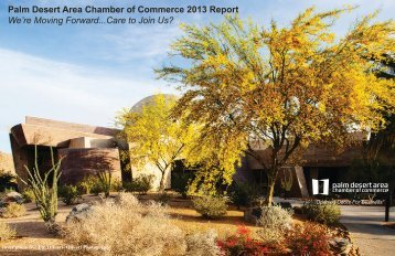 Annual Report - Palm Desert Chamber of Commerce