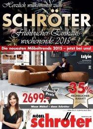 Moebel Schroeter Fruehbucher Einkaufswochen Altenburg