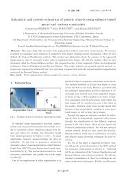 Automatic and precise extraction of generic objects using saliency ...