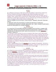 Legge regionale 4 febbraio 2005, n. 26 Tutela del patrimonio ...
