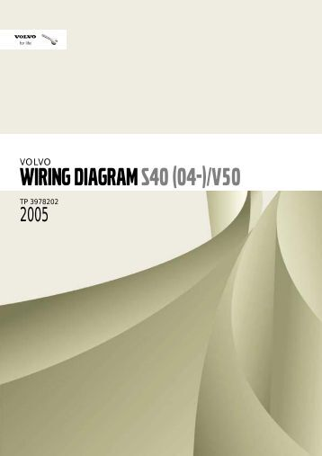 volvo s40 v50 2004 electronic wiring diagrams electronic wiring diagrams volvo s40 v50 2004 2 pdf