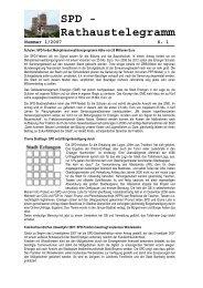 Nummer 1/2007 - SPD-Fraktion im Erlanger Stadtrat