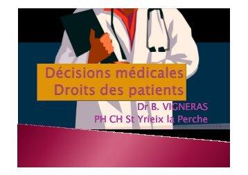Les directives anticipées - Santé en Limousin