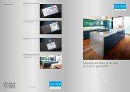 Fabrications sur mesure en acier inox: Aperçu de la ... - Suter Inox AG