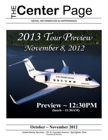 November 8, 2012 - United Senior Services