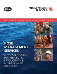 HOSE MANAGEMENT SERVICES - Gates Corporation