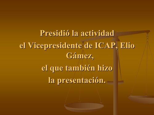 Jornada de Solidaridad Internacional ICAP