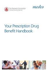 Merck Medco Prescription Drug Benefit Program Brochure