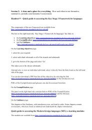 Afl Session 2 Handout 9 - Guide To Renewed ... - Rachel Hawkes
