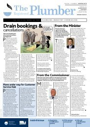 The Registered Plumber Winter 2012 - Plumbing Industry Commission
