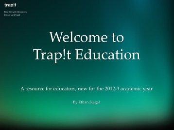 Presentation for Educators - ScienceBlogs