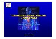 Il Cateterismo Venoso Centrale