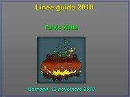 Linee guida 2010: cosa bolle in pentola? - Progetto Vita 118