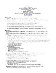 David C. Zhu, Ph.D. Associate Professor of Psychology and ...