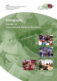 Bibliography: Gender in Political Economy - Garnet