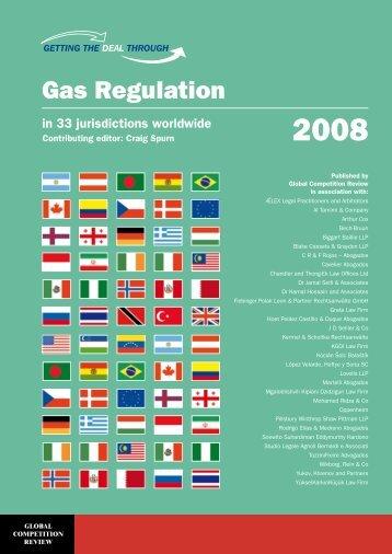 Gas Regulation - Pillsbury Winthrop Shaw Pittman LLP
