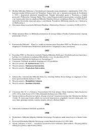 Kalendarium - Miejska Biblioteka Publiczna im. Marii Dąbrowskiej w ...