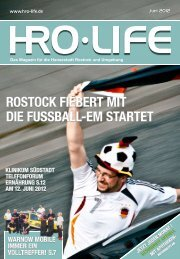 ROSTOCK FieBeRT MiT Die FUSSBaLL-eM STaRTeT - HRO Live