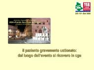 SIS 118 - Bari 2006 - Formazione In Emergenza Sanitaria