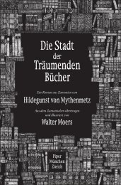 Die Stadt Träumenden Bücher - Piper-Fantasy.de
