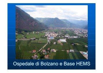 Ospedale di Bolzano e Base HEMS