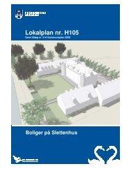 Lokalplan nr. H105 - Fredensborg Kommune