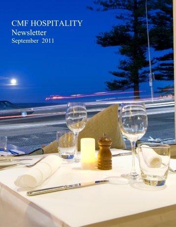CMF Hospitality Newsletter September 2011 - Insolvency
