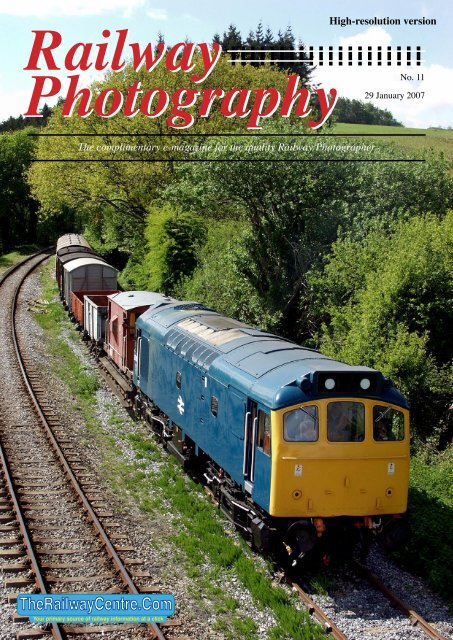 Download High Resolution file 6mb - The Railway Centre.Com