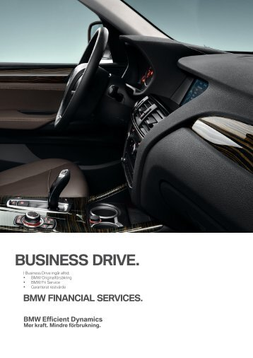 business drive. bmw financial services.
