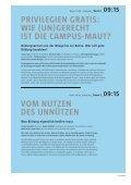 Welche Universitäten wollen wir? - Seite 5