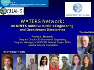 WATERS Network: