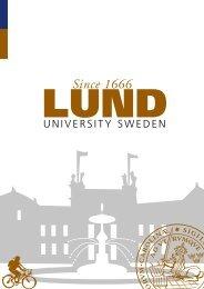 Since 1666 - Lund University