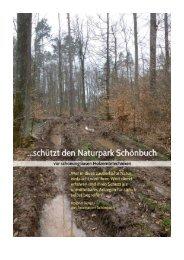 Flyer Schönbuch A4.indd - Schützt den Schönbuch