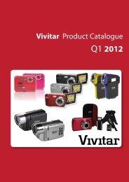 Vivitar Digtal Cameras & Accessories Catalogue