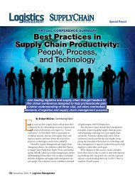 Best Practices in Supply Chain Productivity: People, Process, and ...