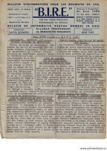 BIRE NR. 228 - arhivaexilului.ro