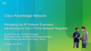 Cisco Knowledge Network