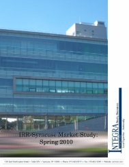 Market Study-Syracuse Spring 2010 - Integra Realty Resources, Inc.