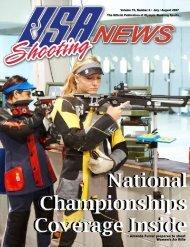 • Amanda Furrer prepares to shoot Women's Air Rifle - USA Shooting