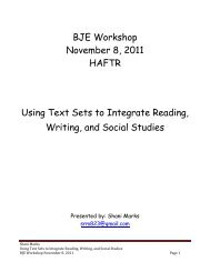 Using Text Sets to Integrate Reading, Writing, and Social Studies.pdf