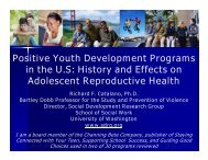 Positive Youth Development Programs in the US - Social ...