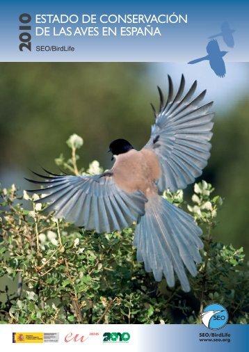 El Estado de Conservación las Aves en España 2010 - SEO/BirdLife