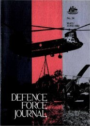 ISSUE 34 : May/Jun - 1982 - Australian Defence Force Journal