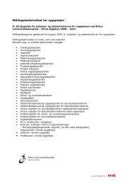 Stillingsbeskrivelser for sygeplejen - Aarhus Universitetshospital