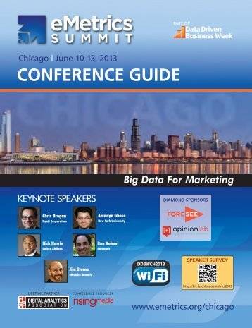 CONFERENCE GUIDE - eMetrics Summit