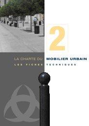 Charte du mobilier urbain (2) - Bordeaux
