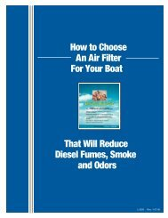 L-2395 How to Choose an Air Filter for your Boat - Tropical Marine ...