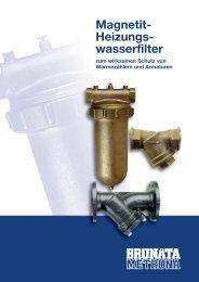 Magnetit-Heizungswasserfilter - BRUNATA Hürth
