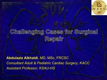 Pulmonary Arterial Reconstruction - RM Solutions