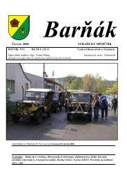 Červen 2008 STRAŠICKÝ MĚSÍČNÍK - obec Strašice